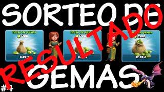 RESULTADO: 4º SORTEO DE GEMAS CON 3 PREMIOS - Anikilo - Clash of Clans - Español - CoC