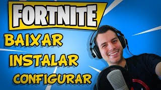 FORTNITE-HOW TO DOWNLOAD INSTALL AND CONFIGURE ON PC WEAK!