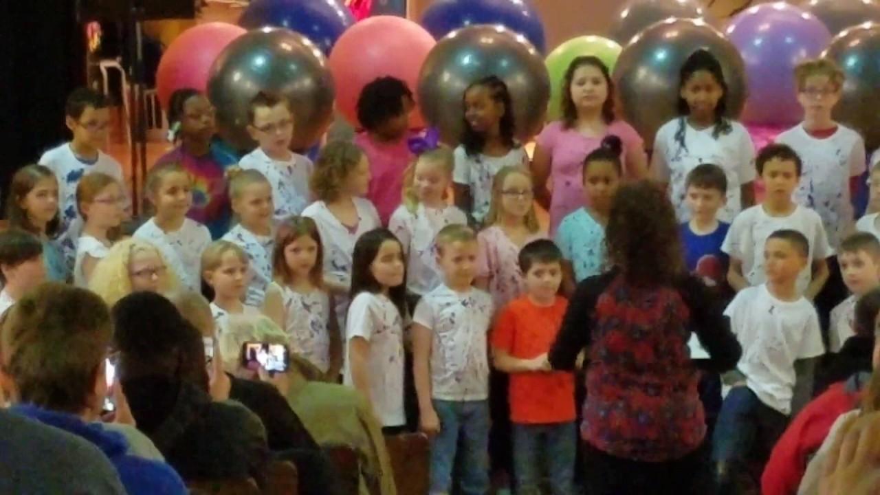 Groveport Elementary School 3rd Grade Spring Show Lydia Matthias Josiah Youtube