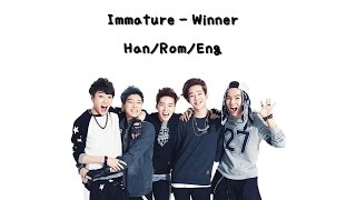 [2.91 MB] Winner - Immature (철없어) Color Coded [Han|Rom|Eng Lyrics]