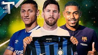 MERCADO DA BOLA l MESSI NA INTER,  MALCOM É DO BARÇA, RICHARLISON É DO ÉVERTON, MOUTINHO É DO WOLVES