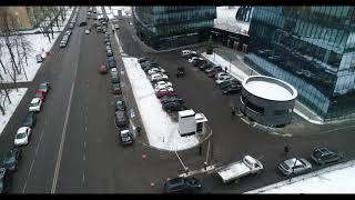Смотреть видео Бизнес-центр Лотос, Москва, Одесская дом 2 онлайн