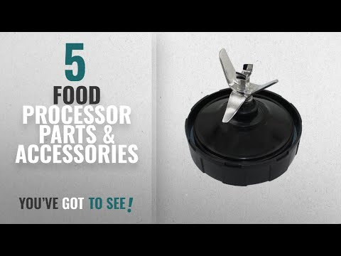 Top 10 Food Processor Parts & Accessories [2018]: Pushingbest Replacement Bottom Blade 7 Fins and 1