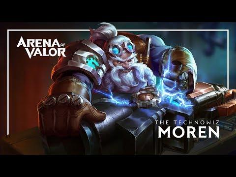 Moren: Hero Spotlight   Gameplay - Arena of Valor
