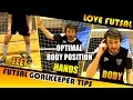 Futsal Goalkeeper Positioning - Goalkeeper Ready Position - How to Stand