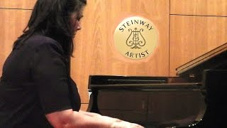 Portrait: Pianist CECILIA PILLADO on Tango Malambo Music Channel