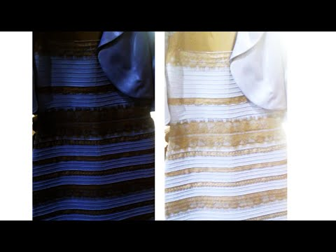 Dress Changes Color - Blue and Black or White and Gold? - YouTube