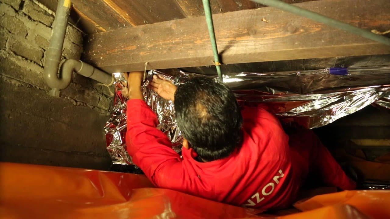 Vloerisolatie op een houten vloer bevestigen woonwebsite for Houten vloer isoleren