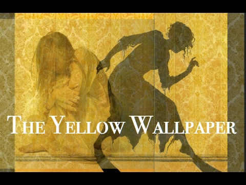 the yellow wallpaper by charlo The color is repellant, almost revolt­ ing a smouldering unclean yellow, strangely faded by the slow-turning sun­ light it is a dull yet lurid orange.