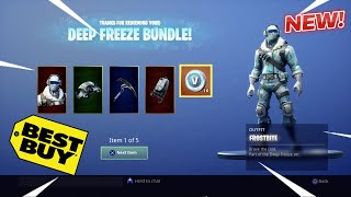 Fortnite Deep Freeze Bundle!!! (Mini Vlog)