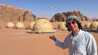 ¿Cómo es dormir en una BURBUJA ESPACIAL en el desierto? | Jordania 🇯🇴🐪