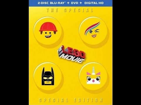 The lego movie: the special special edition blu ray steelbook.