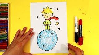 Как нарисовать Маленького Принца для Миланы