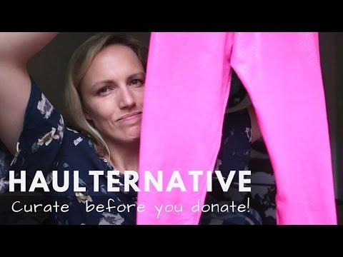 Haulternative | Fashion Revolution Week - First Steps To A Capsule Wardrobe