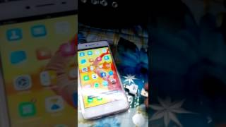 OPPO A37 mobile OTG  connection.