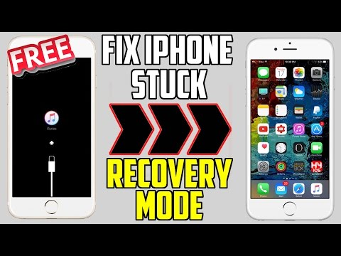 How To Fix Iphone Stuck On Recovery Mode Apple Logo Black Screen More Iphone Ipad Ipod