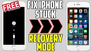 How to Fix iPhone Stuck on Recovery Mode or how to enter and exit f...