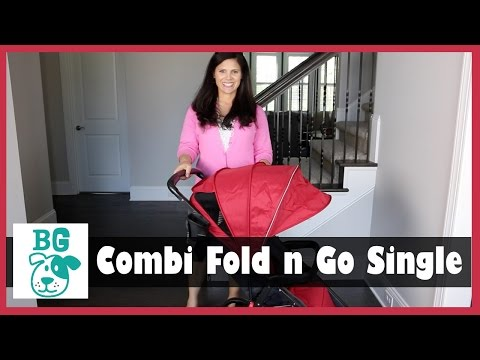 Combi Fold n Go Single Stroller Review by Baby Gizmo