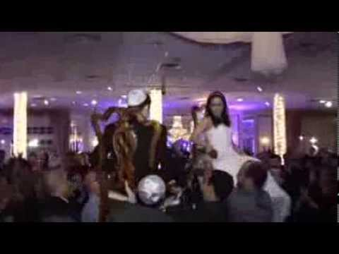 The Hora Traditional Jewish Wedding Reception Youtube