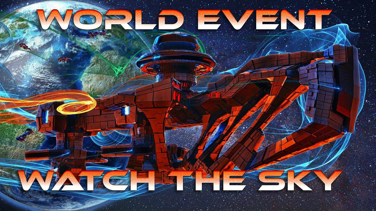 GALACTIC FEDERATION GREAT NEWS FOR ALL WORLD EVENTS. LOOK AT THE SKY