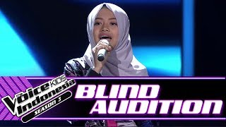 Naura - Rise Up  | Blind Auditions | The Voice Kids Indonesia Season 3 GTV 2018