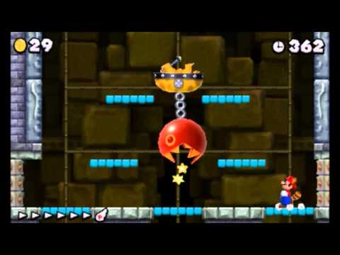 New Super Mario Bros. 2 Boss 2 - Iggy Koopa