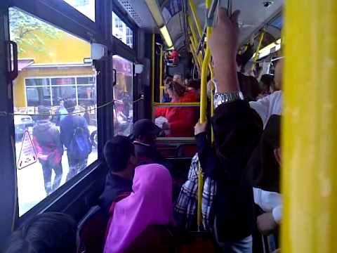 TTC bus driver REFUSED to let sick lady off