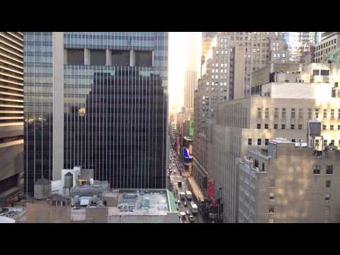 NYC Theatre District Time Lapse - Times Square
