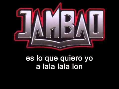 VIDEO: Jambao - estar enamorado (letra)