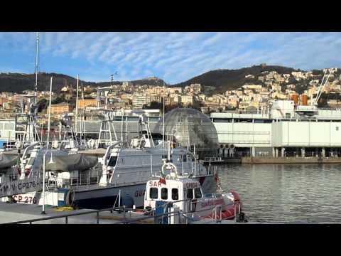 Old Port Genoa, Genoa, Liguria, Italy, Europe