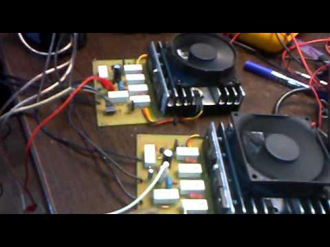 Circuit Board Schematic Diagram Amplifier 2sc5200 2sa1943 2x250w Youtube