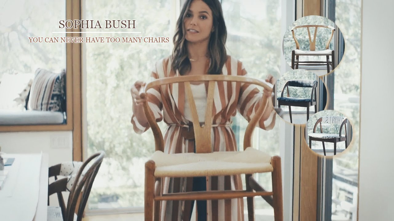 Home Sophia Bush Her Love For Chairs Youtube