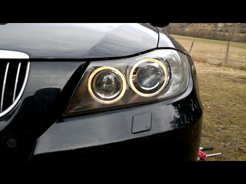 How to change or modify side lights on BMW E90