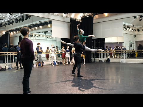 The Royal Ballet's Anemoi in rehearsal