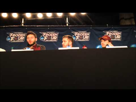 University of Minnesota Press Conference: Frozen Four Championships Practice (4/11/14)