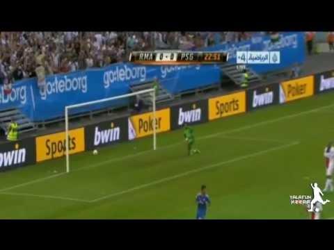 اهداف مباراة ريال مدريد وباريس سان جيرمان  تعليق حفيظ دراجي HD