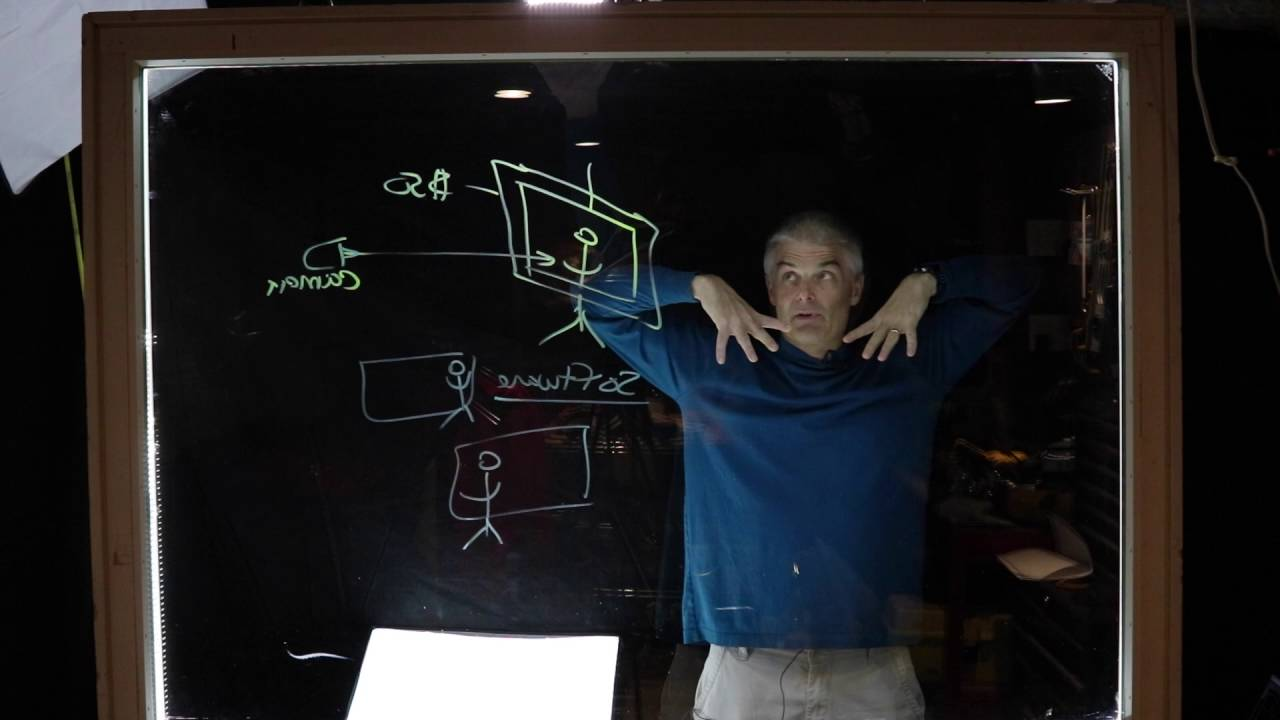 How to Make a Lightboard for Shooting Videos