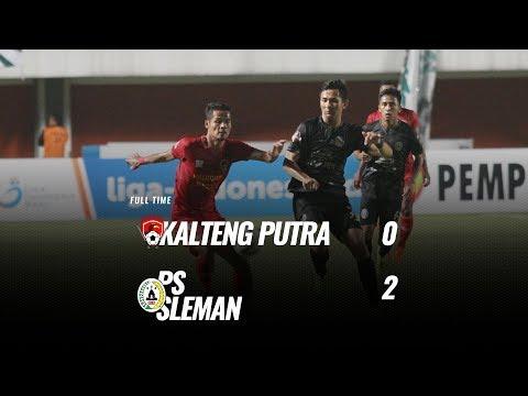 [Pekan 7] Cuplikan Pertandingan Kalteng Putra vs PS Sleman, 7 Juli 2019