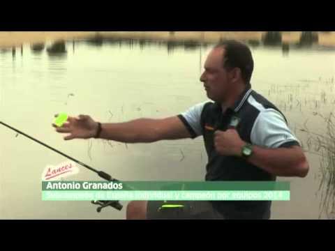 pesca con cebador en superficie