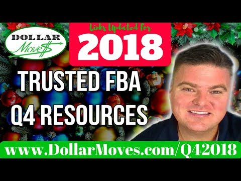 2017 Q4 Trusted Resources To Help Amazon FBA Sellers Succeed During the Holiday Christmas Season!