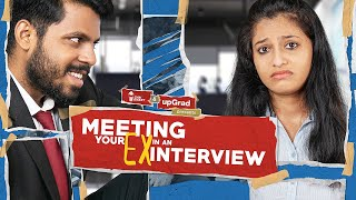 Meeting your EX in an INTERVIEW | Chai Bisket