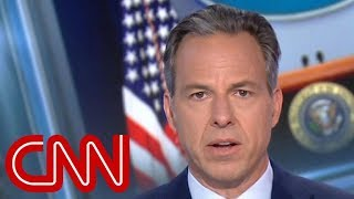 Jake Tapper: Trump's false claim is 'shocking and disturbing'
