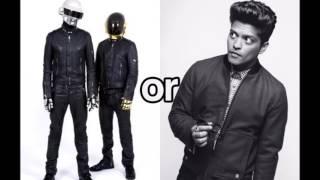 Bruno Mars Feat Daft Punk - Chunky (Oficcial Remix)