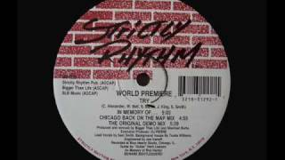 World Premiere - Try (The Original demo Mix)