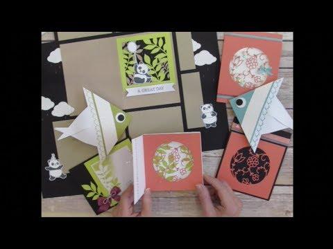 Paper Pumpkin December 2017 Flora and Flutter - Alternate Ideas