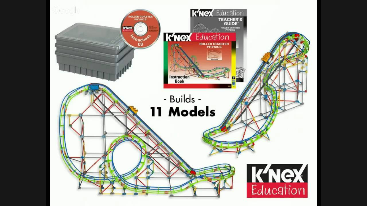 Knex Education Roller Coaster Physics Review Youtube Diagram