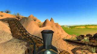 Wild West Adventure (Awesome Mine Train Coaster with RCT3)