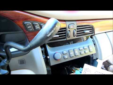 2002 Cadillac DeVille New Radio Install With SWI-RC Interface