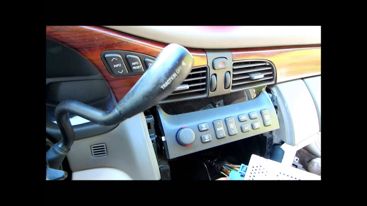 2002 Cadillac DeVille new radio install with SWI-RC interface - YouTube