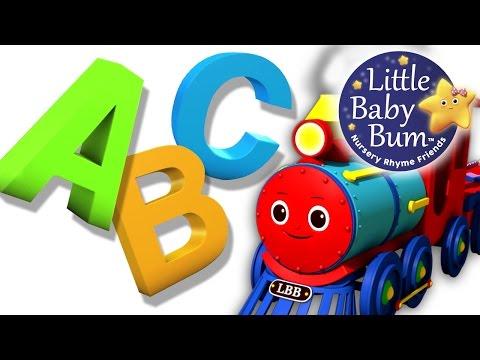 ABC Song  ABC Train Song  Nursery Rhymes  Original Song  LittleBaBum!